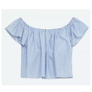 Zara Basics Off the Shoulder Top